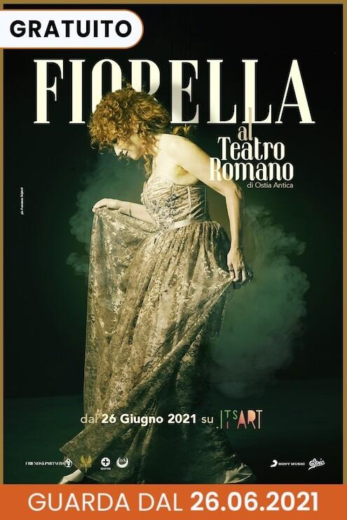 Fiorella Mannoia Teatro Romano di Ostia antica ItsART
