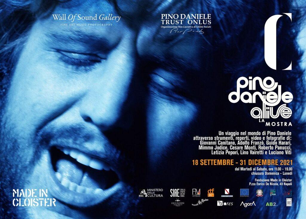 Pino Daniele Alive La Mostra