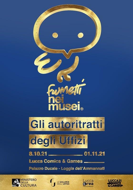 MiC Uffizi Lucca Comics & Games Fumetti nei Musei Locandina