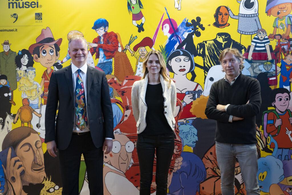 Fumetti, MiC: al Lucca Comics sbarca il nuovo fondo autoritratti degli Uffizi